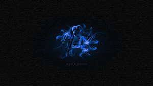 Asparion Background Fire Blue
