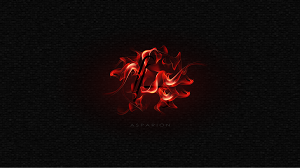 Asparion Background Fire Red